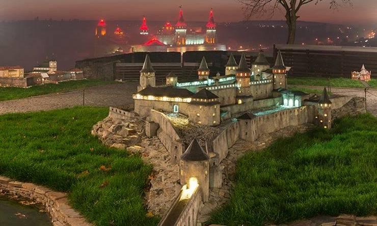Музей мініатюр «Замки України»
