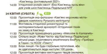 Кам'янець офіційно відкриває туристичний сезон 2021